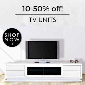 white tv unit cabinet sale