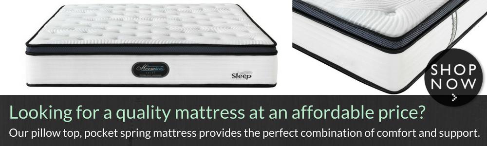 mattress pillow top queen king posturepedic