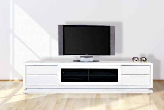 gloss white tv unit cabinet