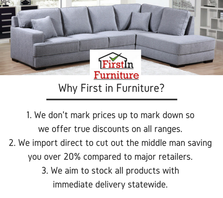 Why First in Furniture